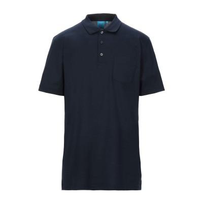 DALMINE ポロシャツ ダークブルー 48 コットン 100% ポロシャツ