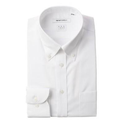 【NON IRON STRETCH】ボタンダウンカラードレスシャツ ヘリンボーン 〔EC・FIT〕