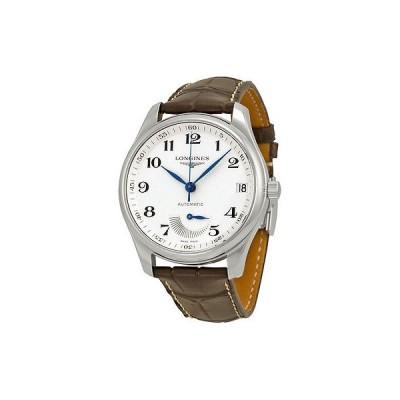 ロンジン 腕時計 Longines Master コレクション オートマチック ブラウン レザー メンズ 腕時計 L26664783