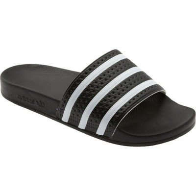 アディダス ADIDAS メンズ サンダル シューズ・靴 Adilette Stripe Sport Slide Black/White/Black