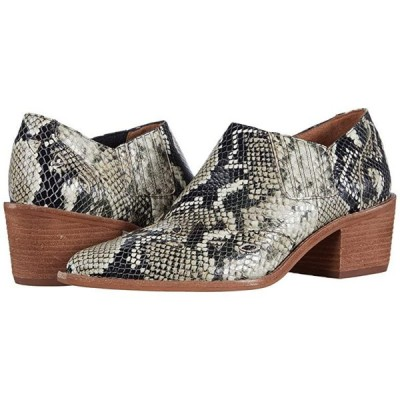 Madewell Cline Western Bootie レディース ブーツ Heather Natural Multi