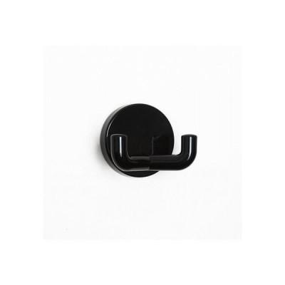 スガツネ(LAMP) HEWI コートフック ブラック φ50mm 477-90-025-90 0