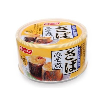 ニッスイ さば味噌煮 190g×6個セット /ニッスイ さば缶