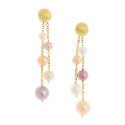 マルコ ビチェゴ レディース ピアス・イヤリング アクセサリー 18K Yellow Gold Africa Pearl Cultured Freshwater Pearl Drop Earrings