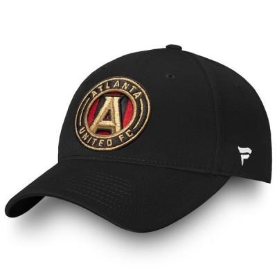 ファナティクス ブランデッド メンズ 帽子 アクセサリー Atlanta United FC Fanatics Branded Alpha Core Adjustable Hat
