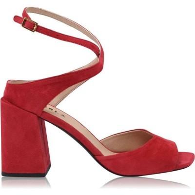 フルラ Furla レディース サンダル・ミュール シューズ・靴 Suede Block Heel Sandles Ruby