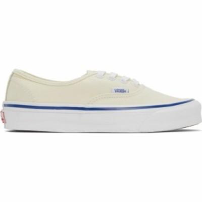 ヴァンズ Vans メンズ スニーカー シューズ・靴 Off-White OG Authentic LX Sneakers White