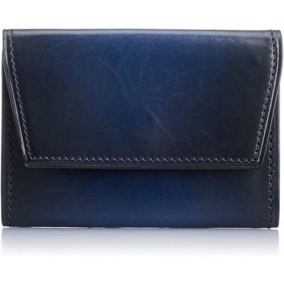 [ユハク] ベラトゥーラコインケース YVE150 ブルー