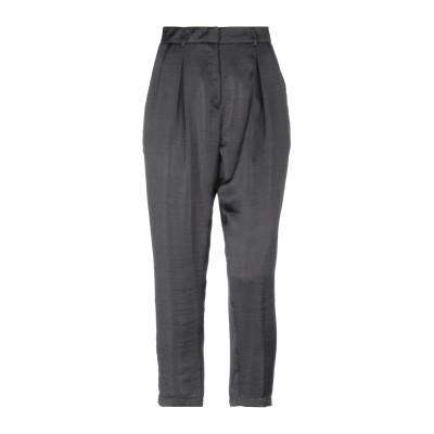 LUCILLE パンツ ブラック 42 ポリエステル 100% パンツ