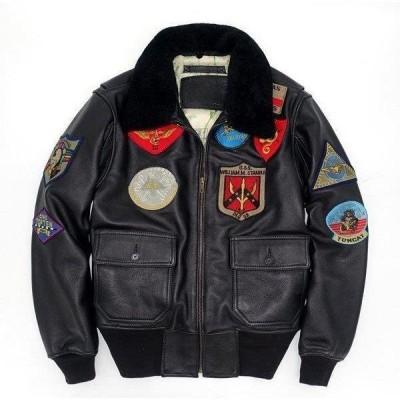 本革ジャケット 牛革製ジャケット  カッコイイ フライトジャケット ライダースジャケット 革ジャン レザーコート 防寒 防風 メンズコート アウター
