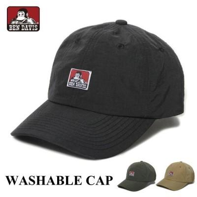 キャップ BEN DAVIS ベンデイビス 帽子 BDW-8600 ウォッシャブルキャップ ローキャップ ネコポス メール便送料無料 人気