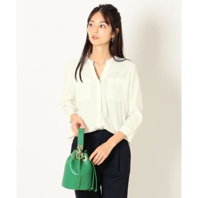 SHIPS for women / シップスウィメン SHIPS any:ダブルポケットシャツ