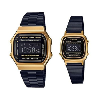 [カシオ] 腕時計 スタンダード ペアセット A168WEGB-1BJF / LA670WEGB-1BJF