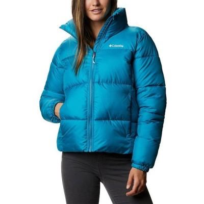 コロンビア ジャケット&ブルゾン アウター レディース Women's Puffect Logo Puffer Jacket Fjord Blue