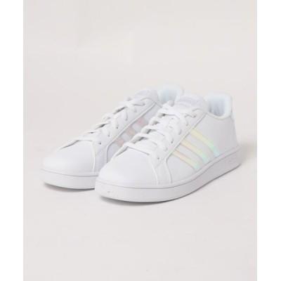 TSURUYA / 《adidas》Grand Court K グランド コート K ★ KIDS シューズ > スニーカー