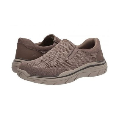 SKECHERS スケッチャーズ メンズ 男性用 シューズ 靴 スニーカー 運動靴 Relaxed Fit Expected 2.0 - Arago - Taupe