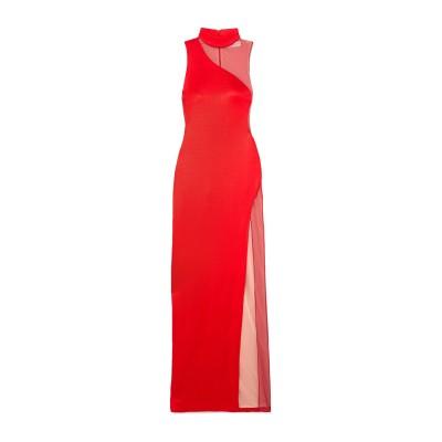 GALVAN  London ロングワンピース&ドレス レッド 36 レーヨン 94% / ナイロン 4% / ポリウレタン 2% ロングワンピース