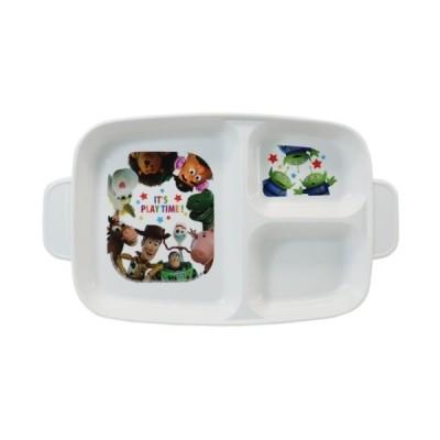 抗菌 こども 深型 ランチプレート キッズ 仕切り付き 食事皿 トイストーリー ディズニー ヤクセル キッズプレート 子ども 女の子 男の子 食洗機対応