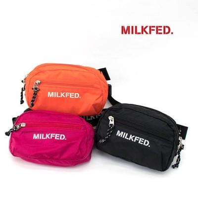 MILKFED. ミルクフェド ロゴテープ イージーファニーパック(103202053011)(2020SS)