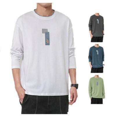 パーカー メンズ スウェット tシャツ Tシャツ 春秋 カジュアル シェルパ メンズ  男性 カスタム ストリート プルオーバー 長袖2枚送料無料