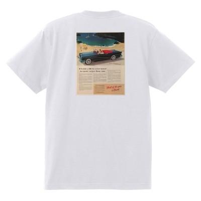 アドバタイジング ビュイック 294 白 Tシャツ 黒地へ変更可能  1955 スーパー リビエラ センチュリー ロードマスター オールディーズ