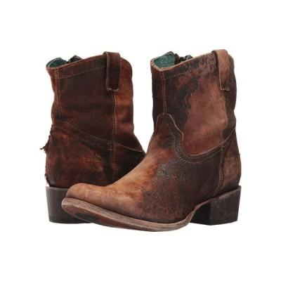 コラル Corral Boots レディース ブーツ シューズ・靴 C1064 Chocolate/Tan