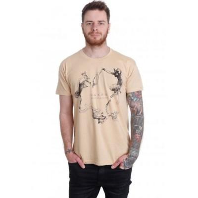 インペリコン Impericon メンズ Tシャツ トップス - Resto Sand - T-Shirt beige