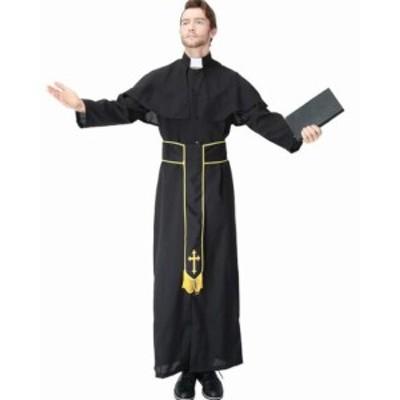 コスチューム コスプレ 聖職者 神父 仮装 ハロウィン 大人用 教会 修道院 宗教着 王宮 童話 パーティー Halloween 変装 衣装