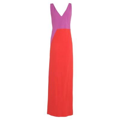 BOSS HUGO BOSS ロングワンピース&ドレス モーブ 40 アセテート 67% / レーヨン 33% ロングワンピース&ドレス