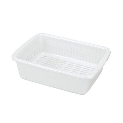 シンクまわり 厨房用品 / 水切りセット L型 K-1659W 寸法: 450 x 330 x H140mm