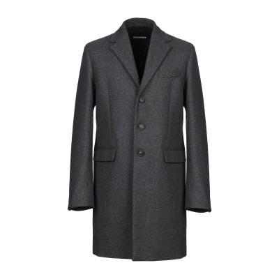 ディースクエアード DSQUARED2 コート 鉛色 54 バージンウール 80% / ナイロン 20% コート