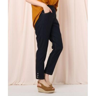 Couture Brooch/クチュールブローチ 【WEB限定サイズ(LL)あり】ストレッチデニムライクスキニー ネイビー(093) 36(S)