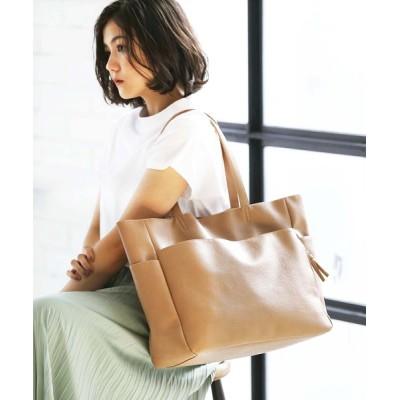 GeeRA / 【21夏新着】【多収納】10ポケットポケットB4対応トート WOMEN バッグ > トートバッグ