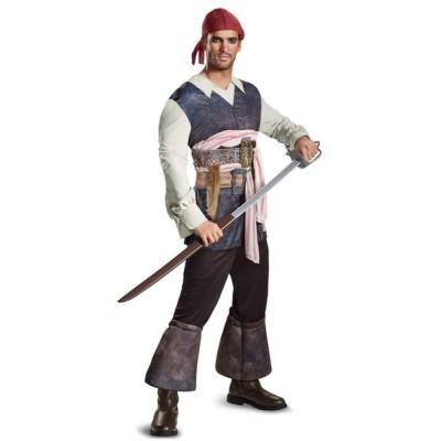 パイレーツオブカリビアン 最後の海賊 グッズ ジャックスパロウ コスチューム クラシック版 海賊 帽子 コスプレ 仮装 大人 メン