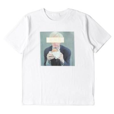 GOD SELECTION XXX ゴッド・セレクション・トリプルエックス Tシャツ 19AW アンディ・ウォーホルフォト ヘビー Tシャツ T-SHIRT ホワイト