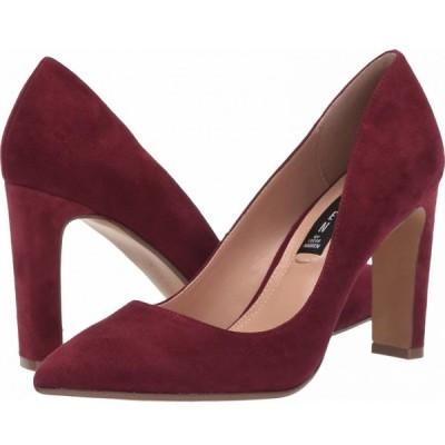 スティーブン ニューヨーク STEVEN NEW YORK レディース パンプス シューズ・靴 Jan Burgundy Suede