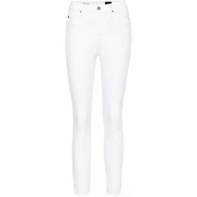 エージージーンズ AG Jeans レディース ジーンズ・デニム ボトムス・パンツ The Mila high-rise skinny jeans Wht