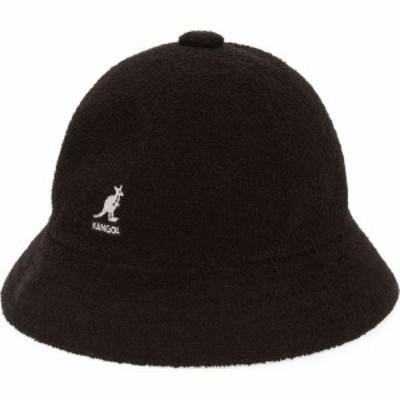 カンゴール KANGOL レディース ハット 帽子 Bermuda Casual Cloche Hat Black