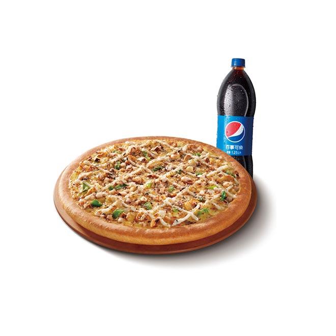 必勝客 十二吋鬆厚比薩六選一附可樂即享券