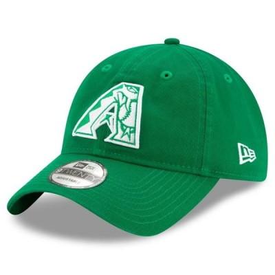 ユニセックス スポーツリーグ メジャーリーグ Arizona Diamondbacks New Era 2020 St. Patrick's Day 9TWENTY Adjustable Hat - Kelly Gre