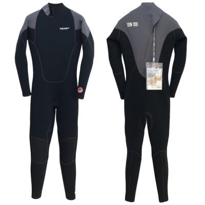 店頭展示品 現品限り 2020 BEWET ICON 3mm CHA (MLサイズ) ビーウェット 男性用 ウェットスーツ フルスーツ
