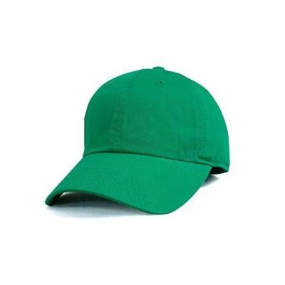 NEWHATTAN ニューハッタン ケリーグリーン 正規品 コットン ツイル ウォッシャブル キャップ 帽子 定番 別注 オリジナル 作成