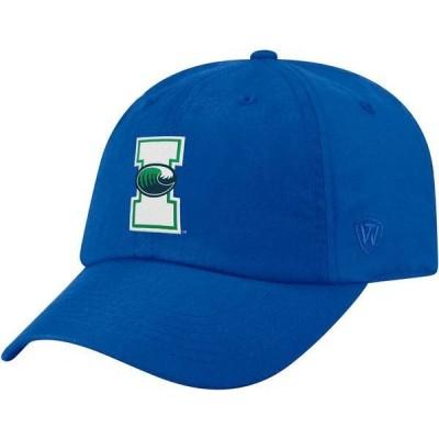 トップオブザワールド メンズ 帽子 アクセサリー Top of the World Men's Texas A&M-Corpus Christi Islanders Blue Staple Adjustable Hat