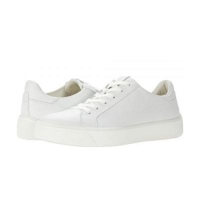 ECCO エコー レディース 女性用 シューズ 靴 スニーカー 運動靴 Street Tray Sneaker - White Cow Leather