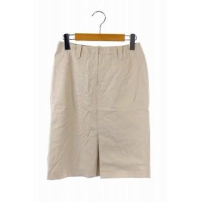 【中古】ロペ ROPE スカート タイト ひざ丈 63-90 ベージュ /HK レディース