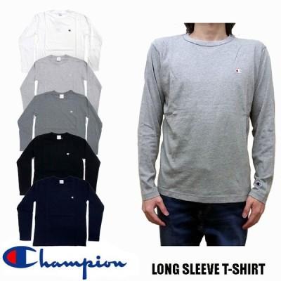 Champion ベーシック 長袖 Tシャツ 全5色 C3-P401 チャンピオン