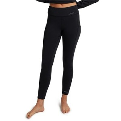 バートン レディース カジュアルパンツ ボトムス Burton Heavyweight X Base Layer Pants - Women's True Black