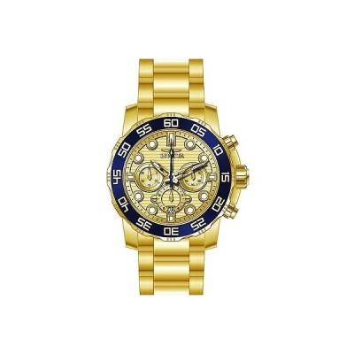 インヴィクタ INVICTA メンズ プロダイバー 50ミリ スチール ブレスレット ケース クォーツ アナログ 腕時計 22227