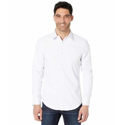 カルバンクライン シャツ トップス メンズ Long Sleeve  Move 365 Solid Shirt Brilliant White