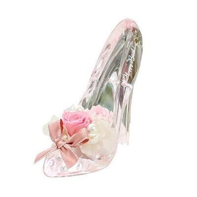 プリザーブドフラワー IPFA ガラスの靴 シンデレラ [バースデーモデル ギフト] 誕生日プレゼント/バラ/花/女性 (